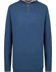 Click to enlarge image IE-A227H-Half-Zip-plain.jpg
