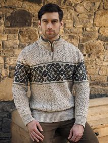 Click to enlarge image X4843-Newgrange-Jacquard-Sweater-Oatmeal.jpg